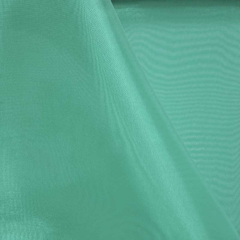 101 CRYSTAL / JADE 390 / 100% Polyester Crystal Organdy