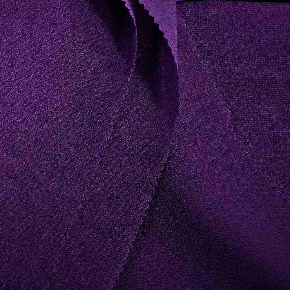 PEBBLE 200 / PURPLE 257 / 100% Polyester Pebble Georgette