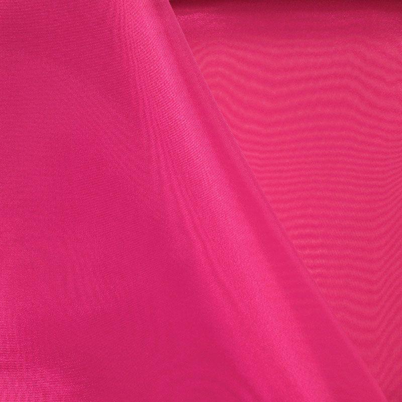 101 CRYSTAL / FUCHSIA 917 / 100% Polyester Crystal Organdy