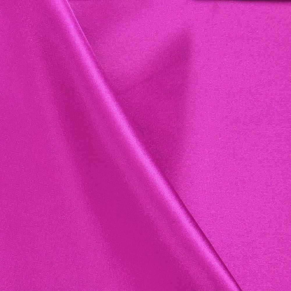 CHA6150 / FUCHSIA 398 / 100% Polyester Charmeuse [Korea]