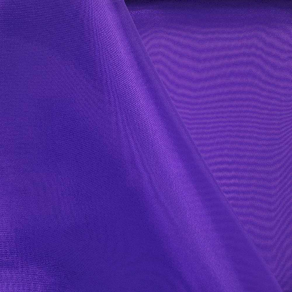 101 CRYSTAL / PURPLE 653 / 100% Polyester Crystal Organdy