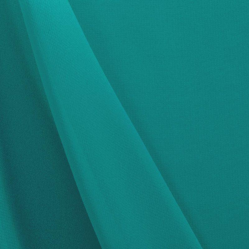 MULTI-HI / AQUA 1136 / 100% Polyester Hi-Multi Chiffon