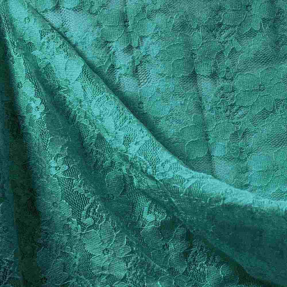 FB004 SPAN/LACE / JADE 3901 / 92% NYLON 8% SPANDEX LACE