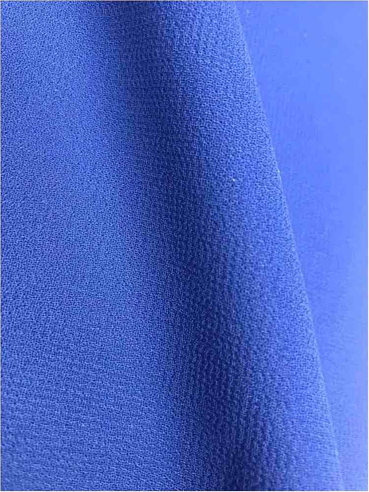 PEBBLE 200 / ROYAL/3 154 / 100% Polyester Pebble Georgette