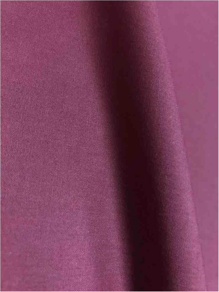T/C80/20 / BURGUNDY 334 / 80% POLY 20% Cotton Broadcloth