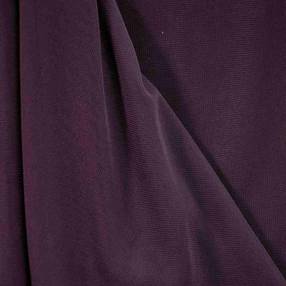 CMJ3000 / PLUM 718 / 100% Polyester Chiffon Matt Jersey