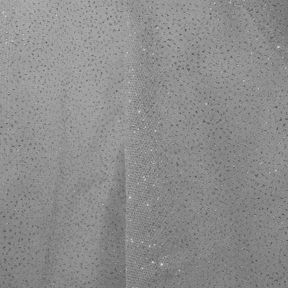 GLITTER MESH / GRAY 08 / 100% Polyester Mesh Glitter