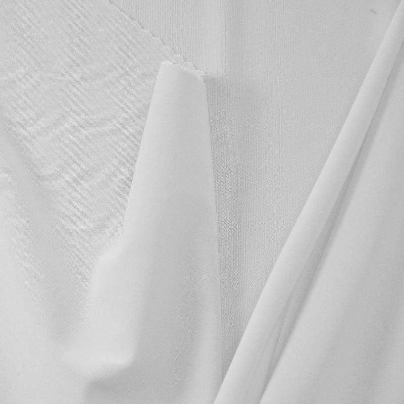 <h2>CDC</h2> / WHITE 1100                 / 100% Polyester Crepe Du Chine P/D