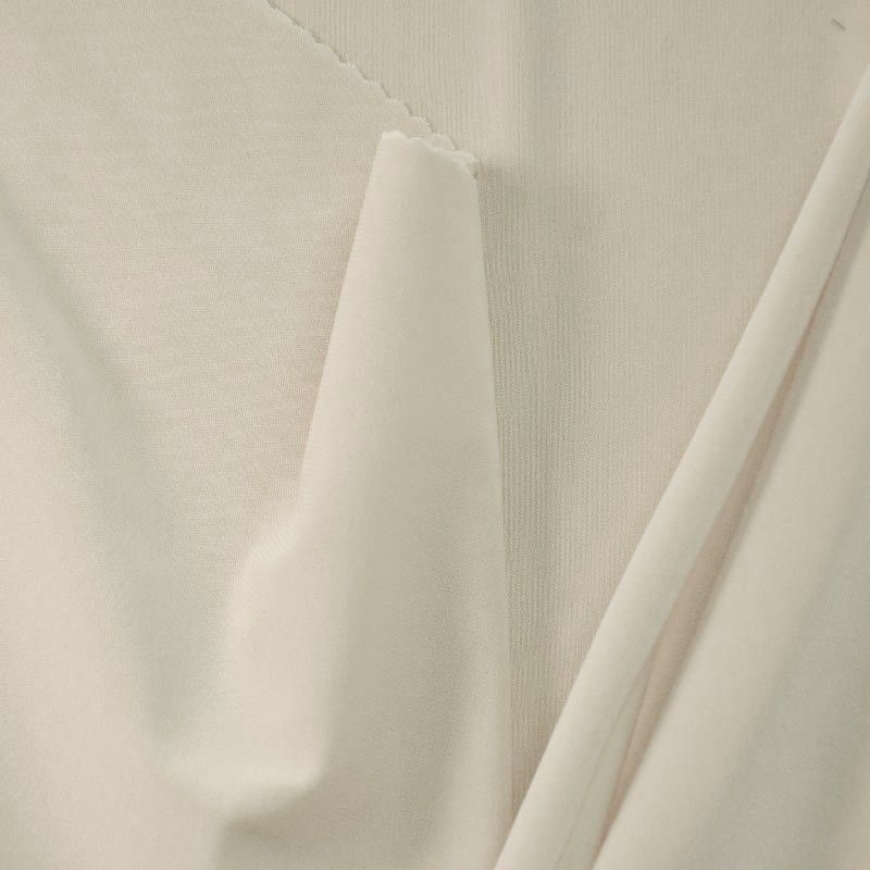 CDC / IVORY 1112 / 100% Polyester Crepe Du Chine P/D