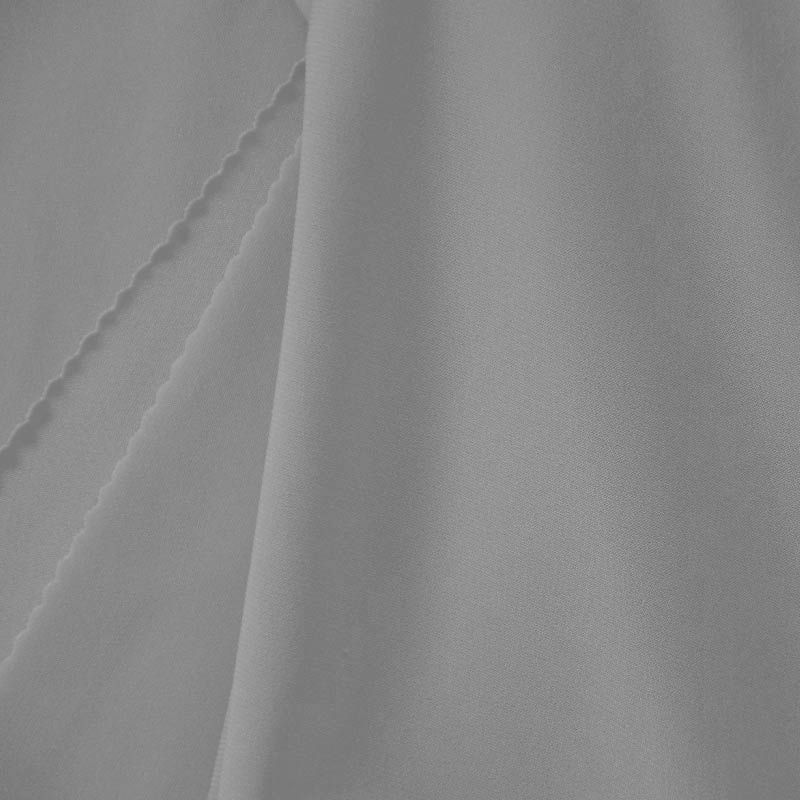 CDC / SILVER 1310 / 100% Polyester Crepe Du Chine P/D