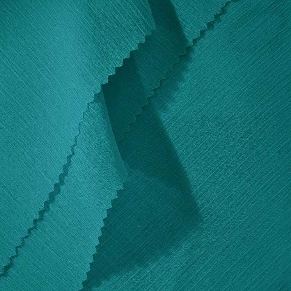 YORYU 060 / TEAL 252 / 100% Polyester Chiffon Yoryu