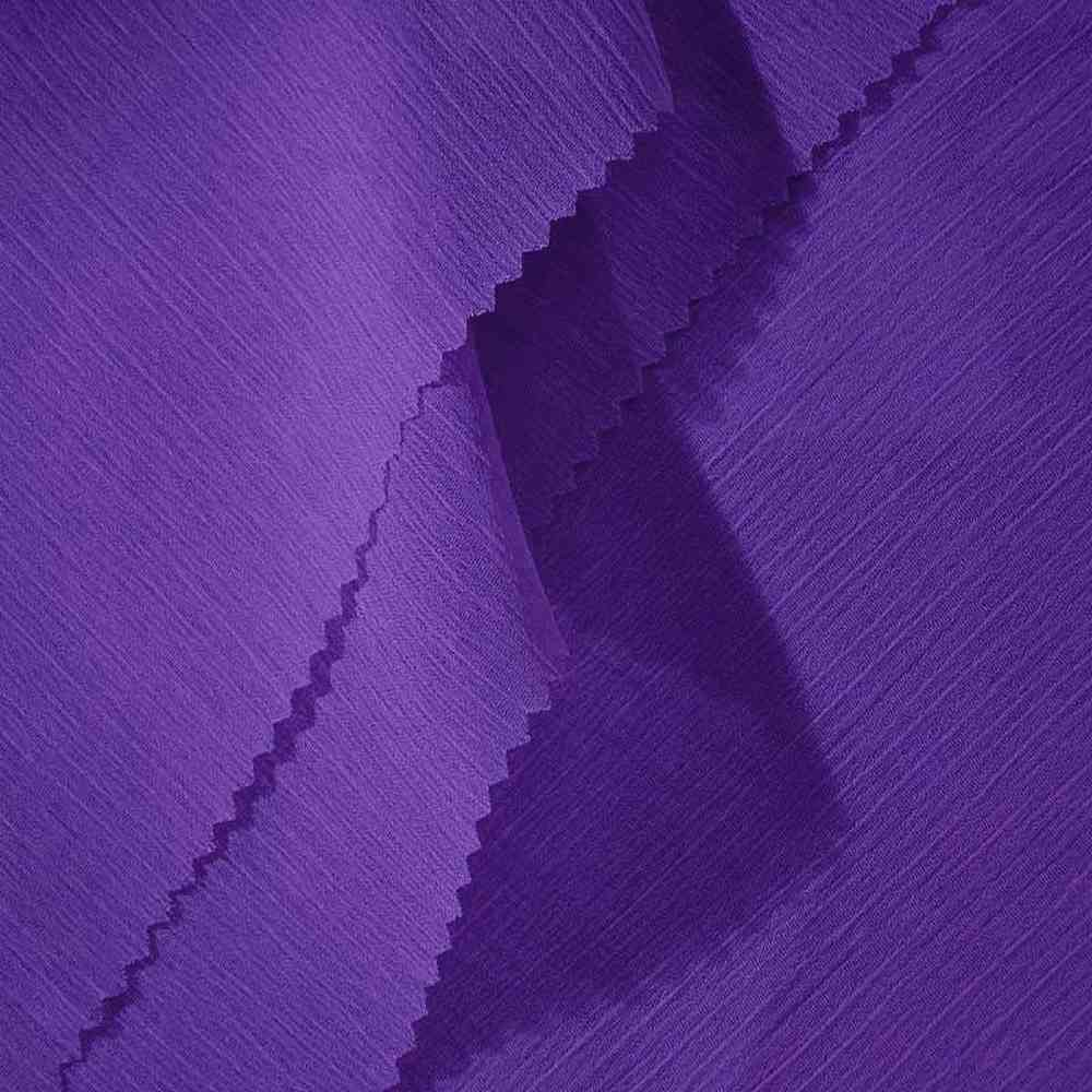 YORYU 060 / PURPLE 720 / 100% Polyester Chiffon Yoryu