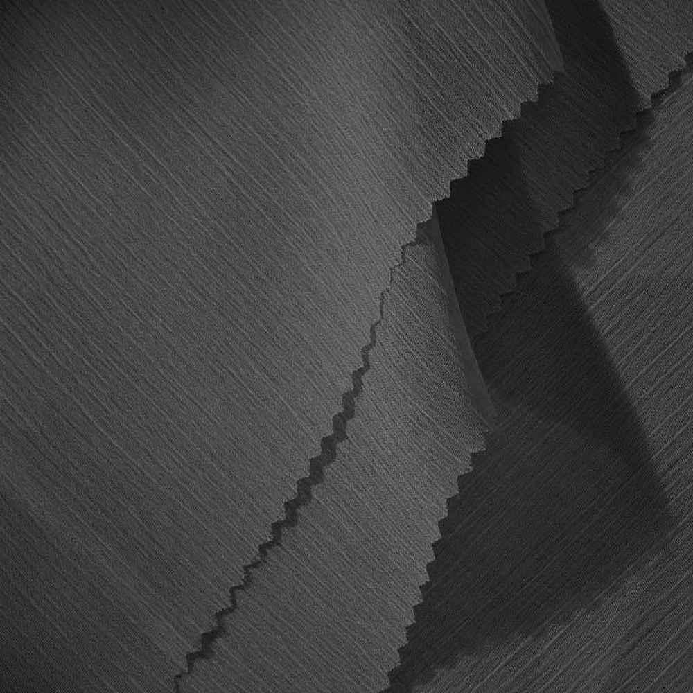 YORYU 060 / CHARCOAL 765A / 100% Polyester Chiffon Yoryu