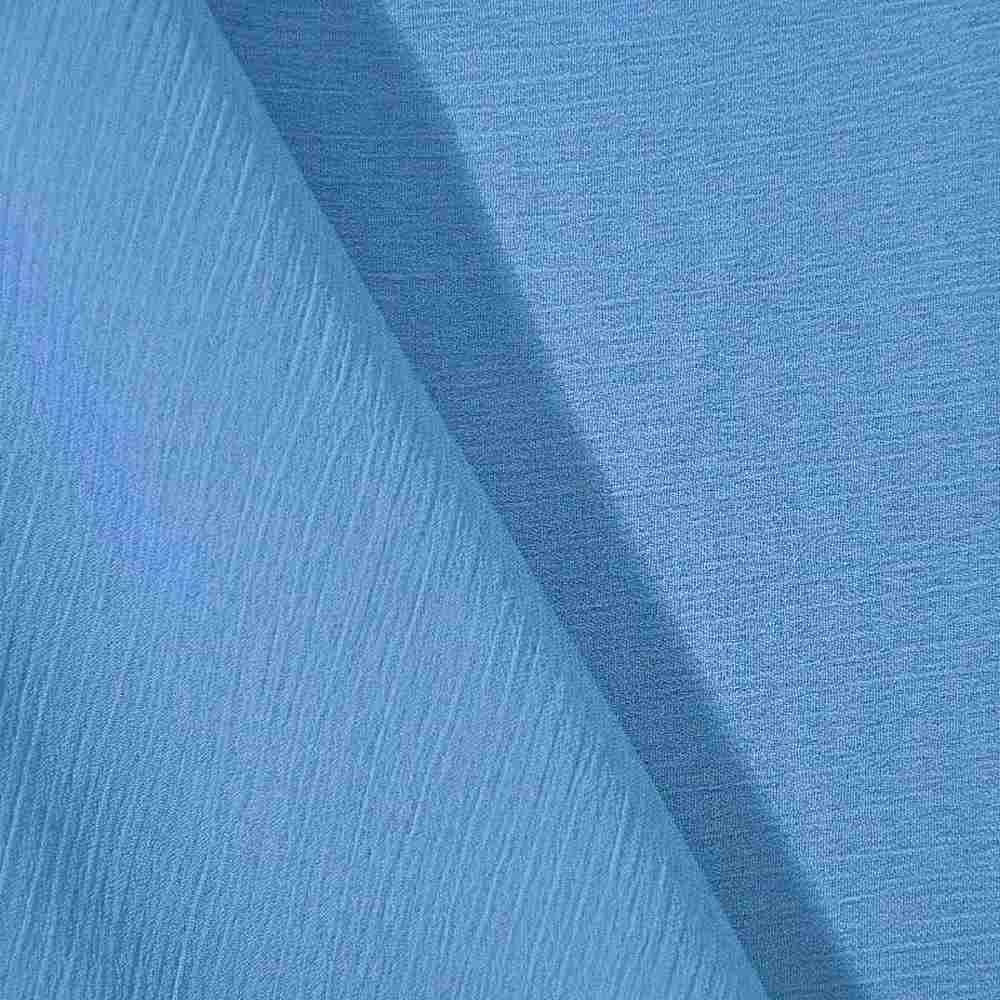YORYU 060 / AQUA 137 / 100% Polyester Chiffon Yoryu