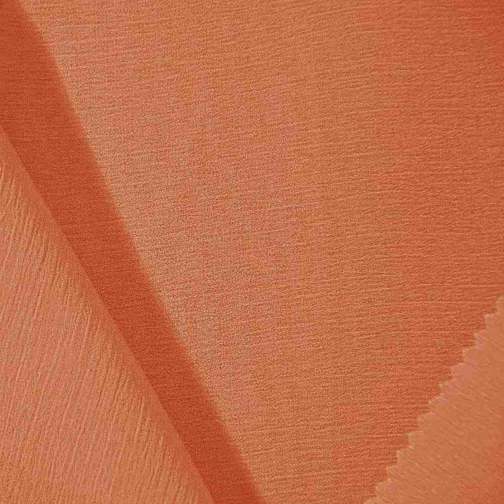 <h2>YORYU 060</h2> / ORANGE 405                 / 100% Polyester Chiffon Yoryu