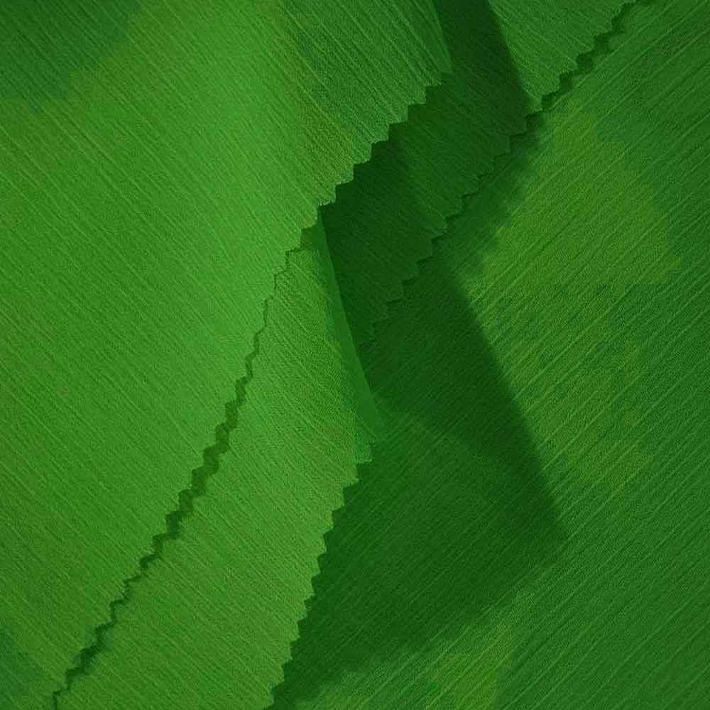 YORYU 060 / GREEN 875 / 100% Polyester Chiffon Yoryu