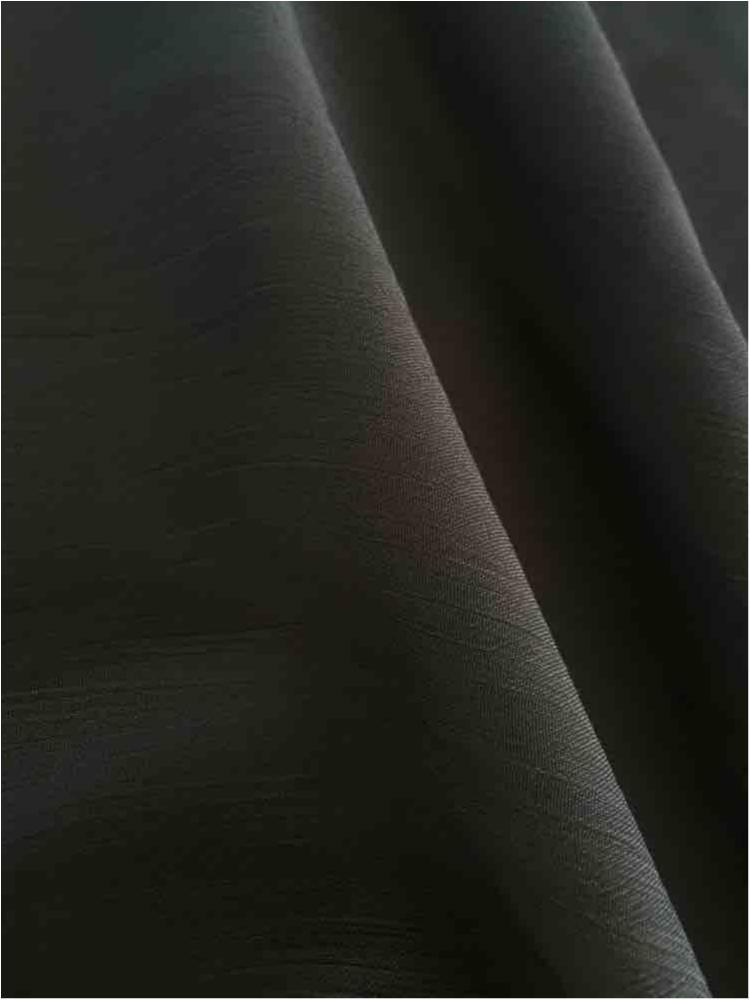 YORYU 060 / CHARCOAL/L 760 / 100% Polyester Chiffon Yoryu