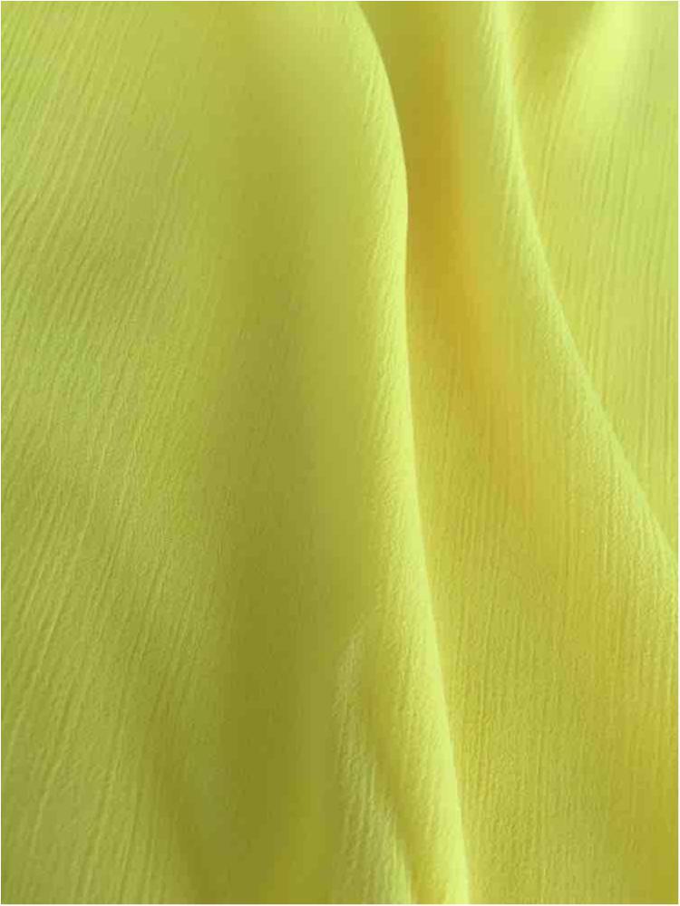 YORYU 060 / YELLOW 366 / 100% Polyester Chiffon Yoryu