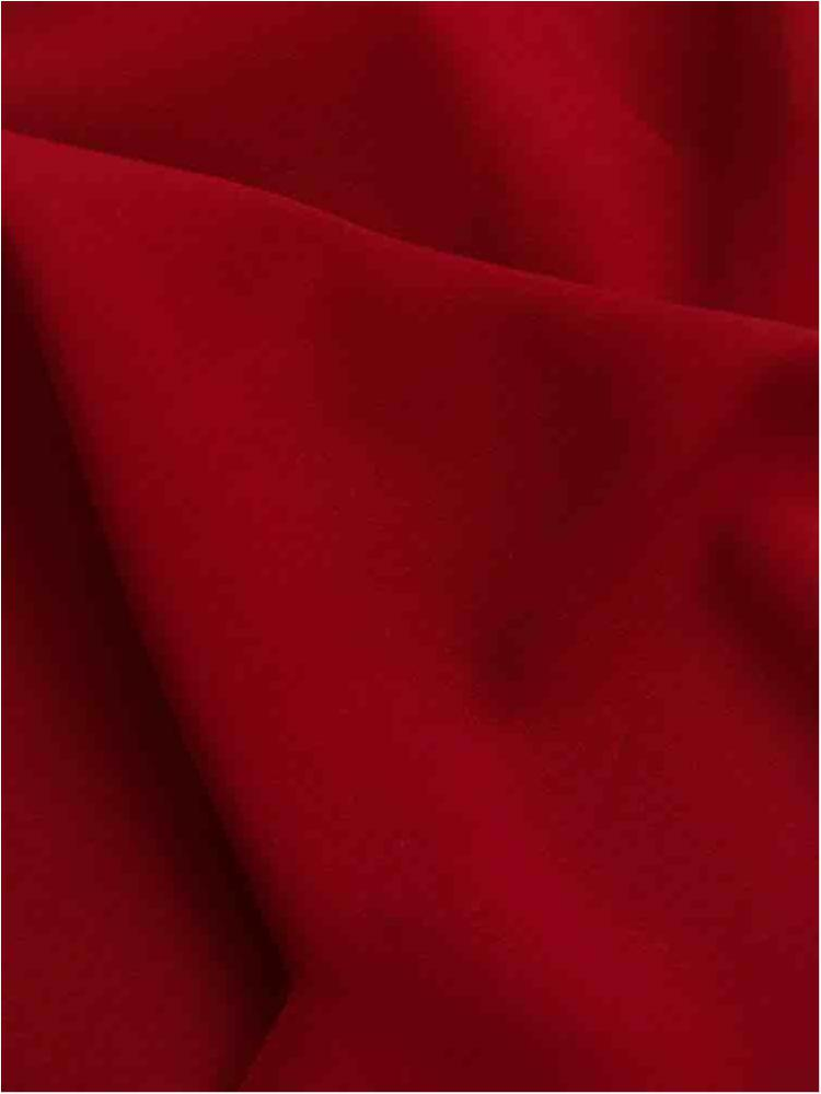 CDC / WINE 1402 / 100% Polyester Crepe Du Chine P/D