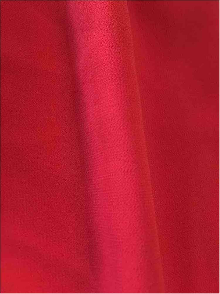 CREPE CHIFFON / RUST 1352 / 100% Polyester Crepe Chiffon