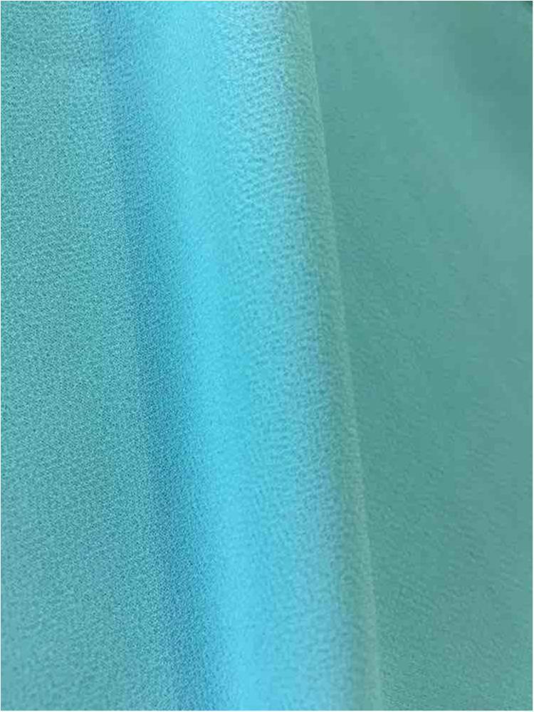 CREPE CHIFFON / BLUE/LT 1126 / 100% Polyester Crepe Chiffon