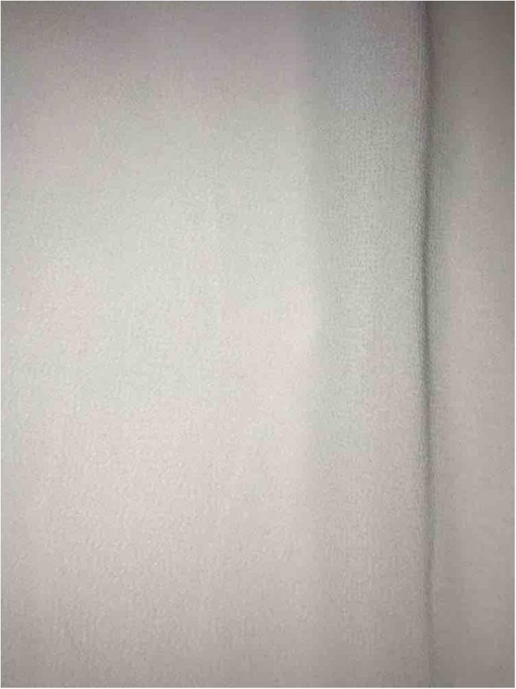 CREPE CHIFFON / WHITE 1100 / 100% Polyester Crepe Chiffon