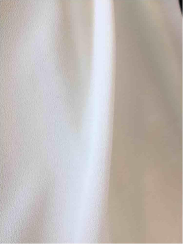 CREPE CHIFFON / IVORY 1112 / 100% Polyester Crepe Chiffon