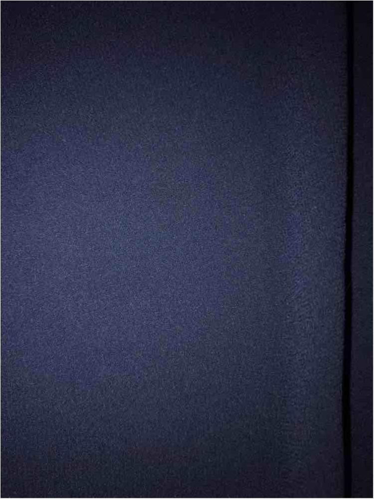 CREPE CHIFFON / NAVY 1245 / 100% Polyester Crepe Chiffon