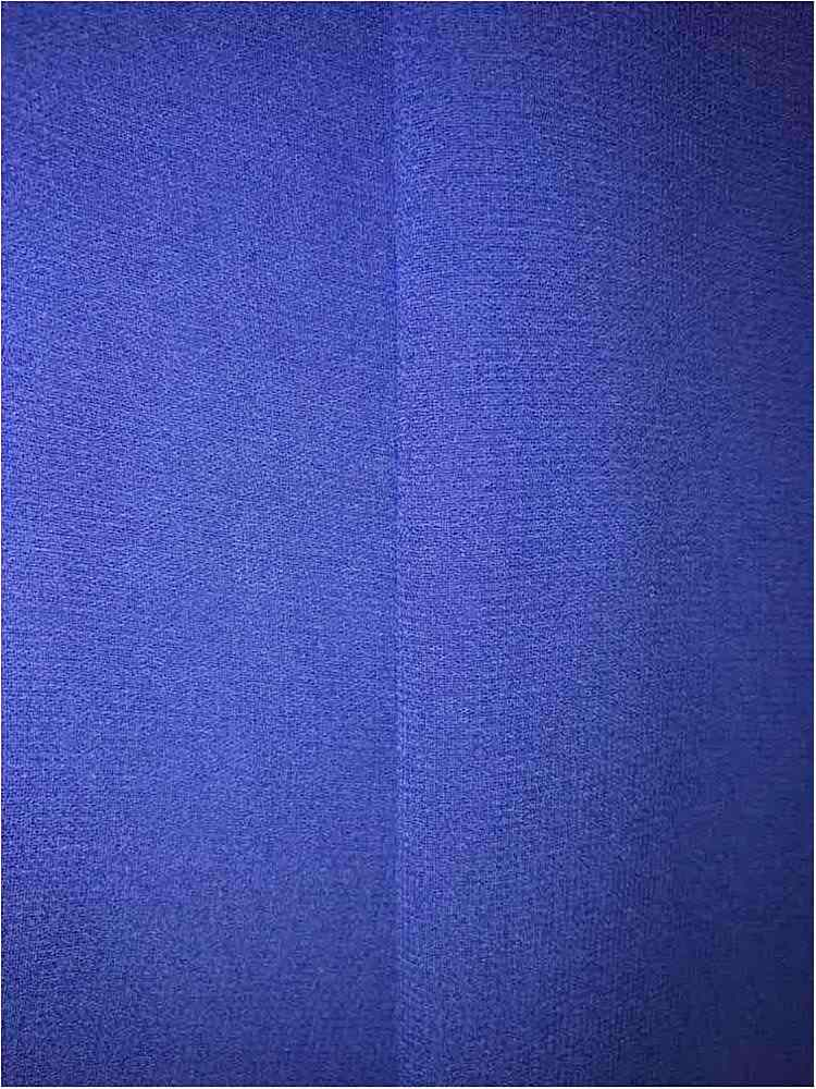 CREPE CHIFFON / ROYAL/BRT 1149 / 100% Polyester Crepe Chiffon