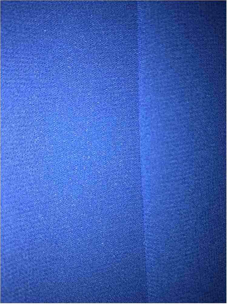 CREPE CHIFFON / ROYAL 1148 / 100% Polyester Crepe Chiffon