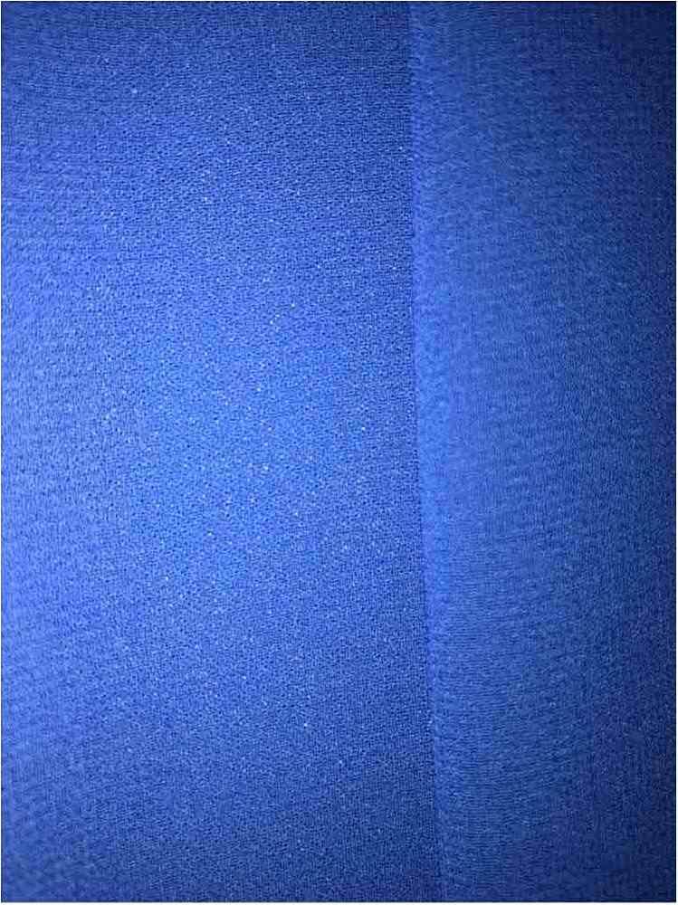 <h2>CREPE CHIFFON</h2> / ROYAL 1148                 / 100% Polyester Crepe Chiffon