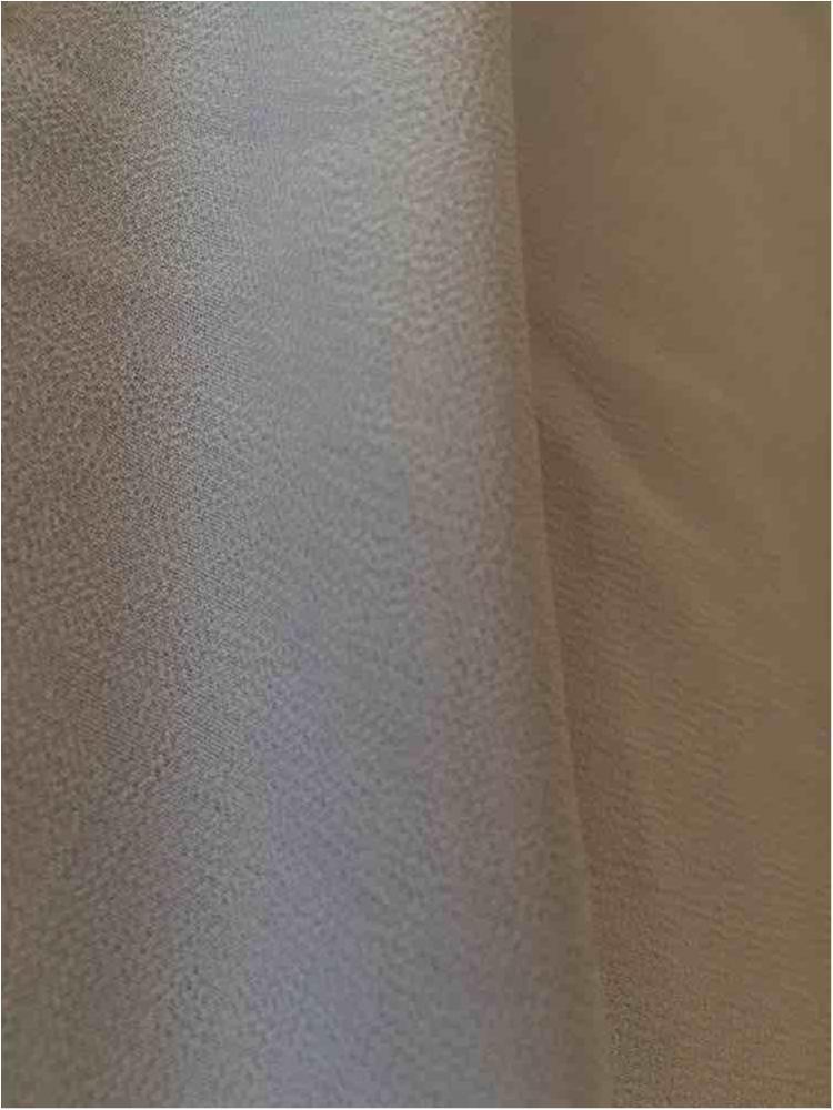 CREPE CHIFFON / SILVER 0065 / 100% Polyester Crepe Chiffon
