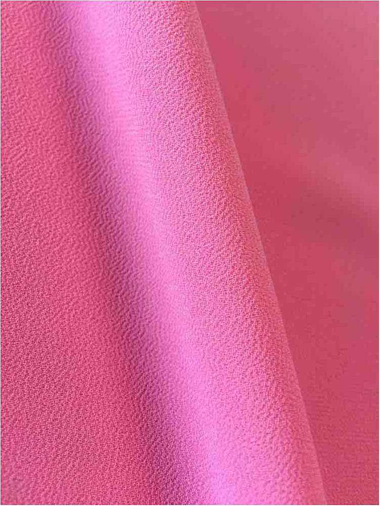 <h2>CREPE CHIFFON</h2> / CORAL 1203                 / 100% Polyester Crepe Chiffon
