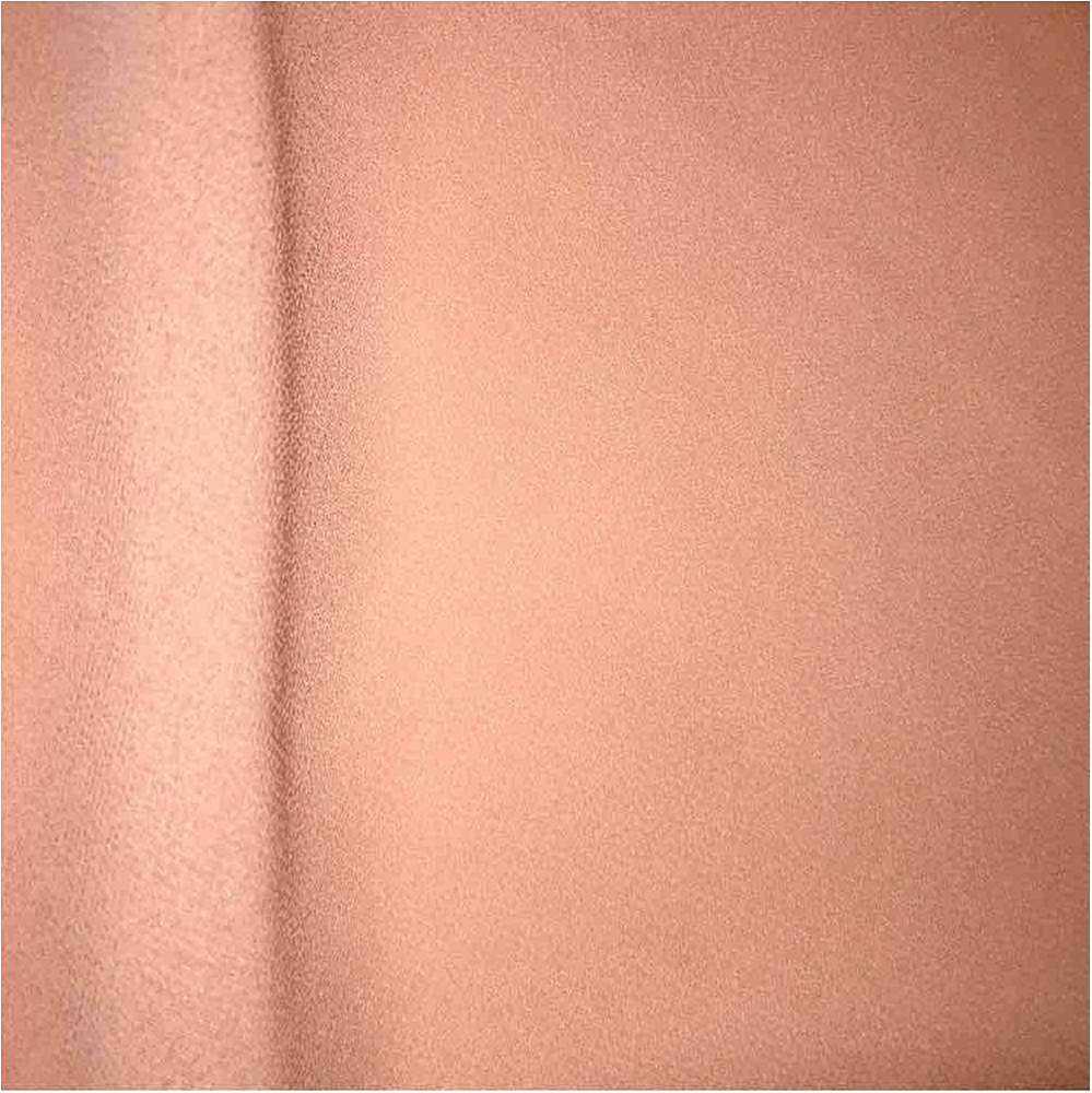 CREPE CHIFFON / PEACH 4122 / 100% Polyester Crepe Chiffon