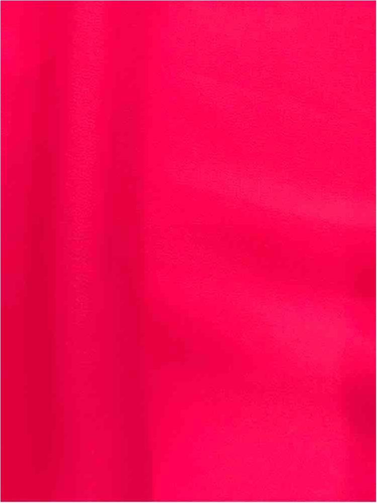 CREPE CHIFFON / HOT PINK 1194 / 100% Polyester Crepe Chiffon