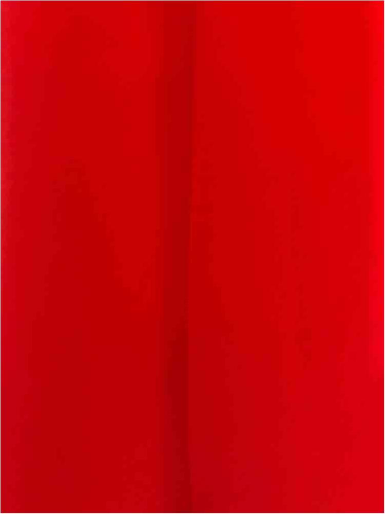 <h2>CREPE CHIFFON</h2> / RED/BRT 1390                 / 100% Polyester Crepe Chiffon