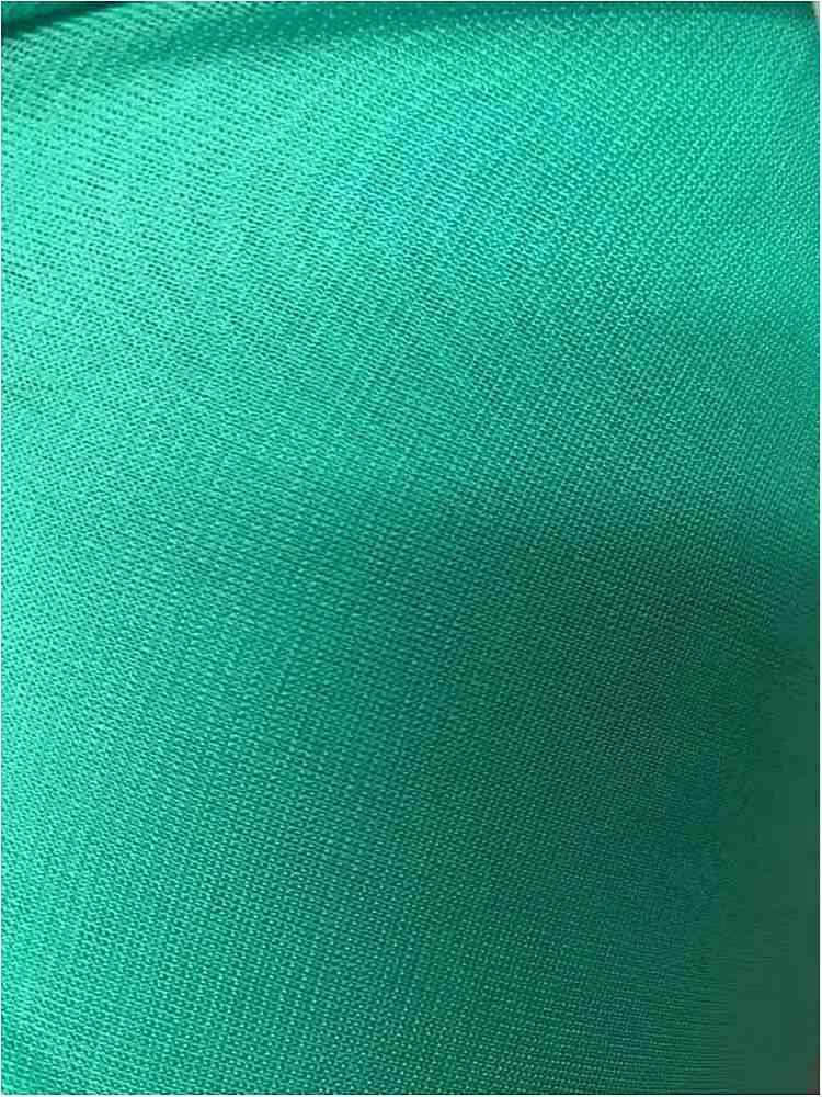 CMJ3000 / EMERALD 641 / 100% Polyester Chiffon Matt Jersey