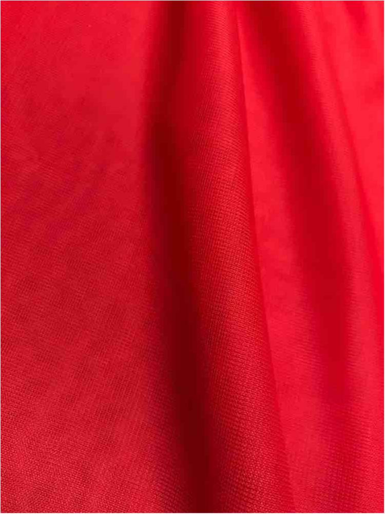 CMJ3000 / RED/POPPY 664 / 100% Polyester Chiffon Matt Jersey