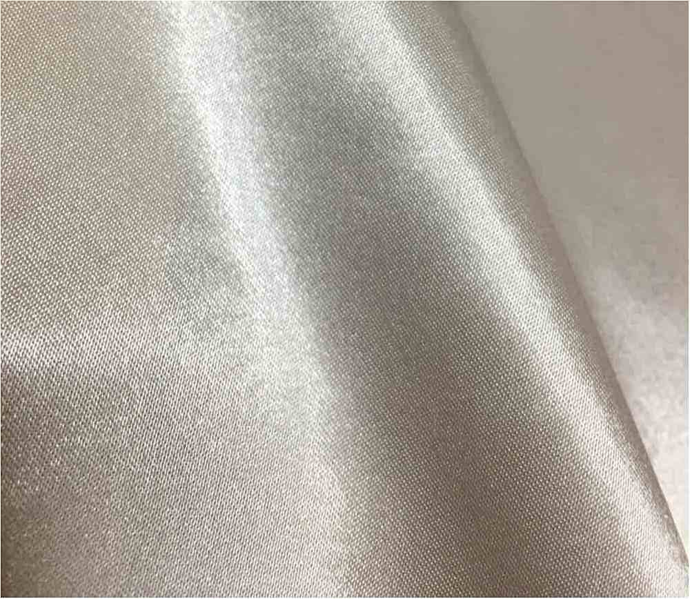 CRM / SILVER/M 025 / 100% Polyester Charmeuse