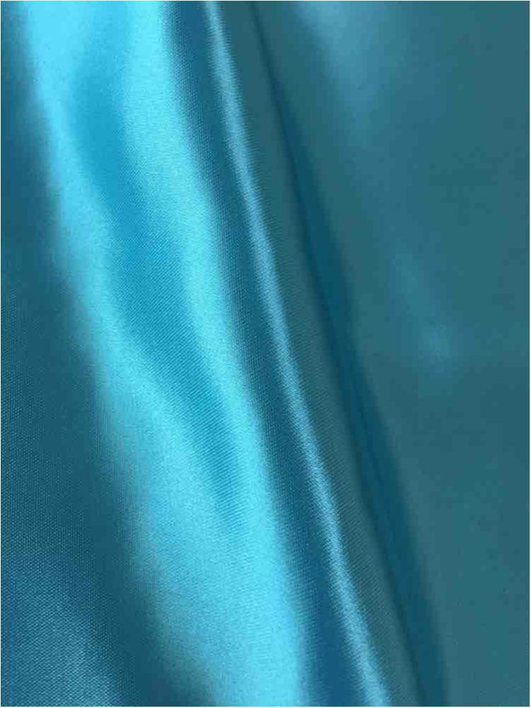 SATIN/POLY 3145 / AQUA/L 916 / 100% Polyester Bridal Satin