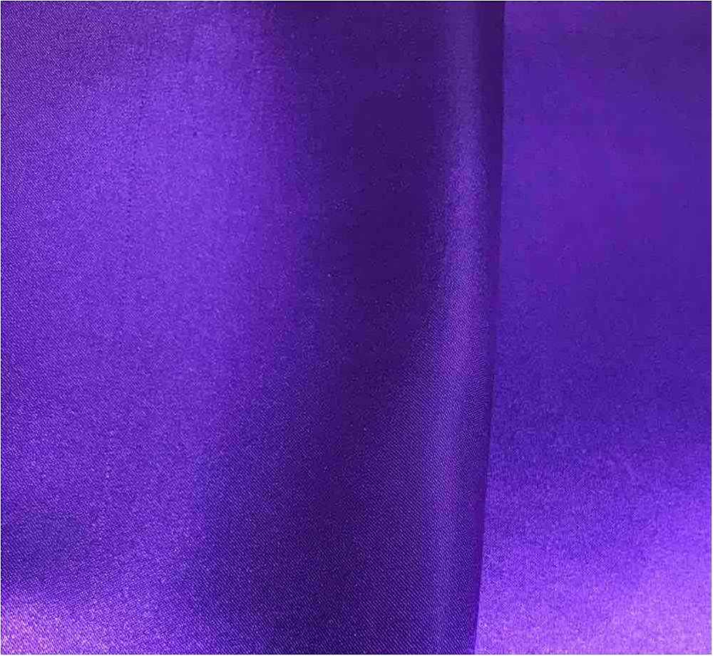 CRM / PURPLE/D 657 / 100% Polyester Charmeuse