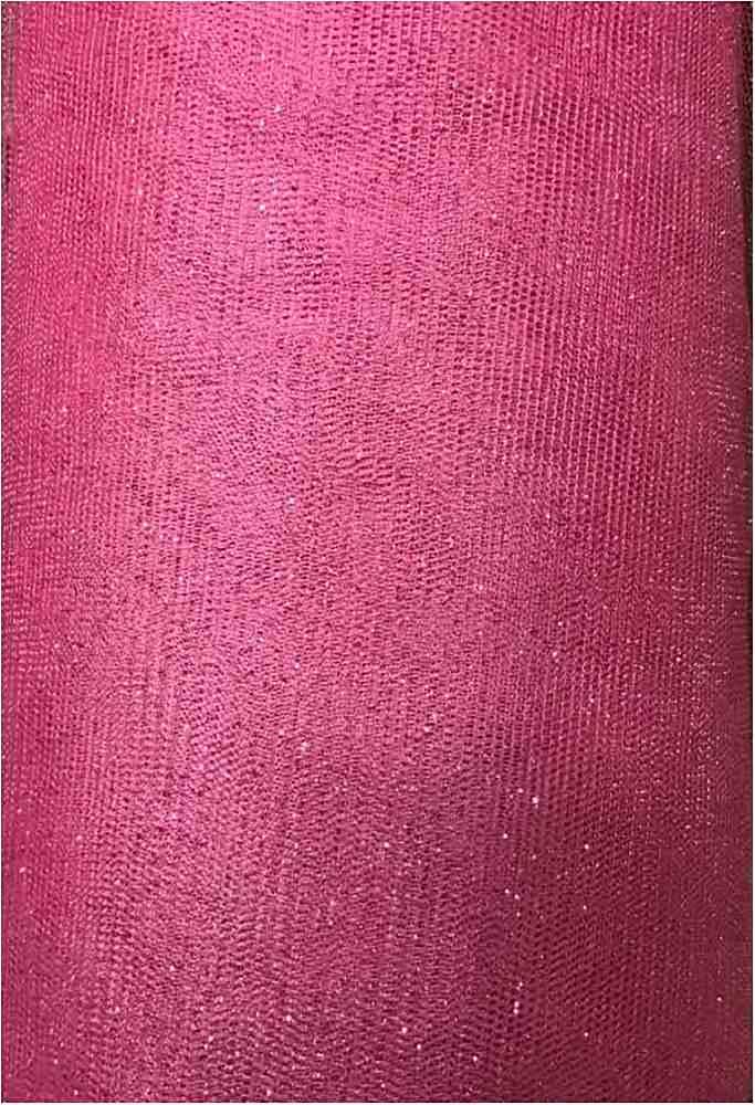 GLITTER MESH / PINK 56 / 100% Polyester Mesh Glitter