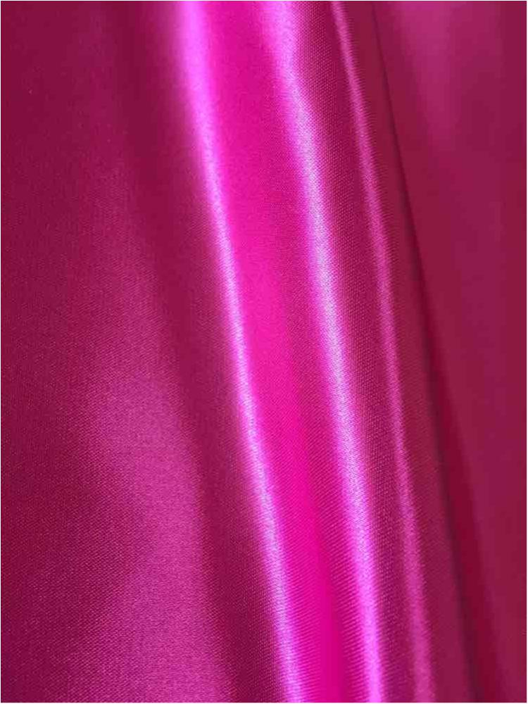 SATIN/POLY 3145 / FUSCHIA 397 / 100% Polyester Bridal Satin