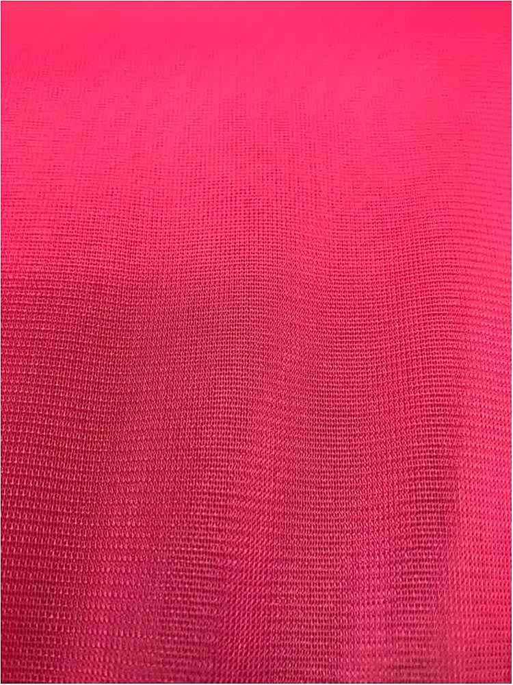 CMJ3000 / FUSCHIA 222 / 100% Polyester Chiffon Matt Jersey