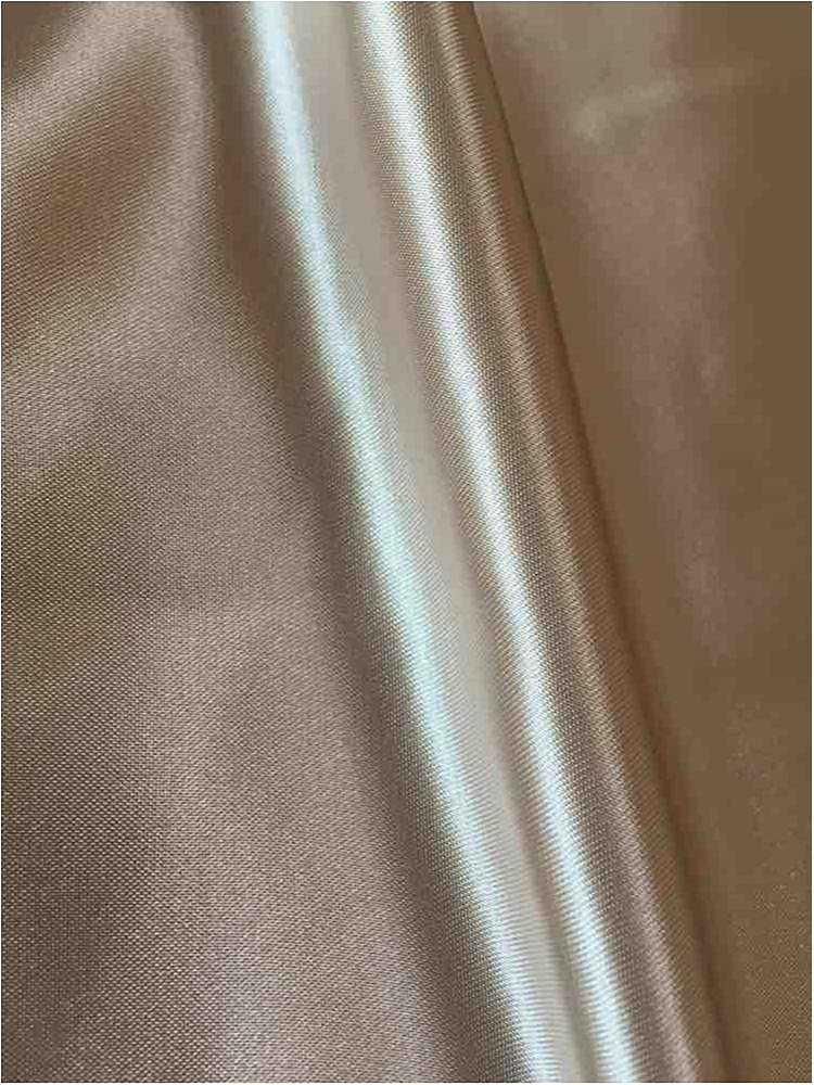 SATIN/POLY 3145 / CHAMPAGNE 117 / 100% Polyester Bridal Satin