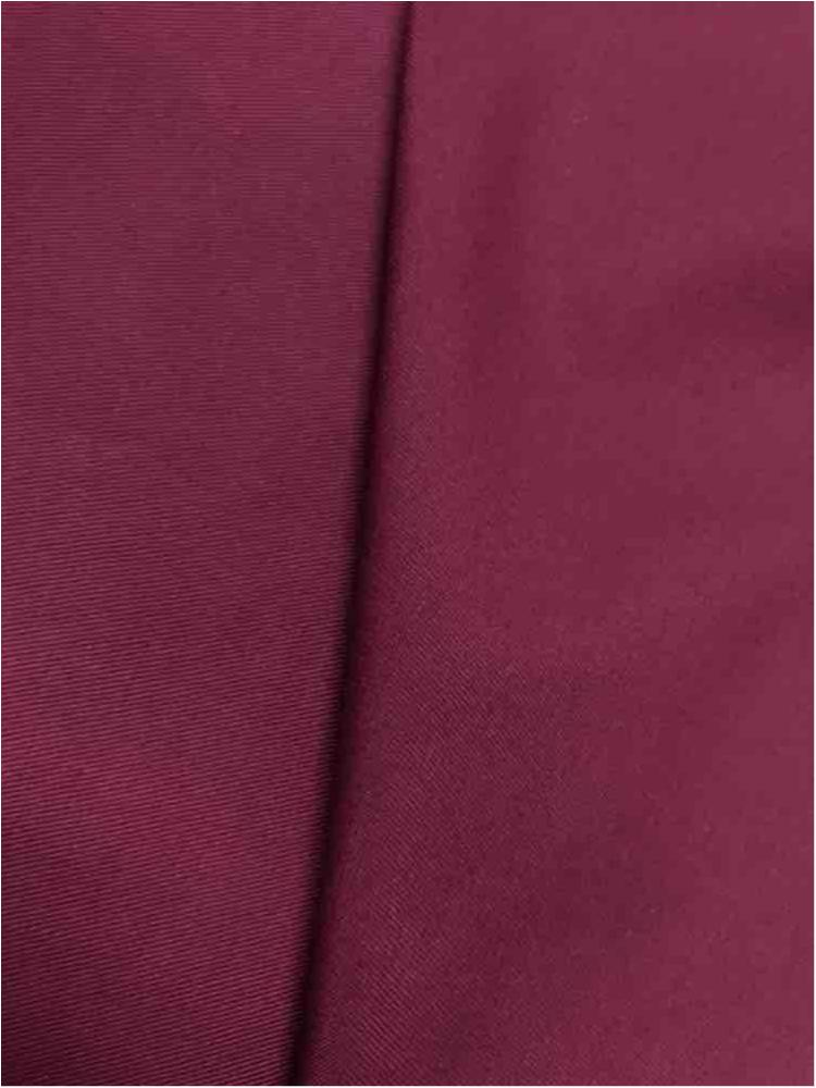 TWILL T/C / BURGUNDY 230 / 65% POLYESTER 35% COTTON TWILL