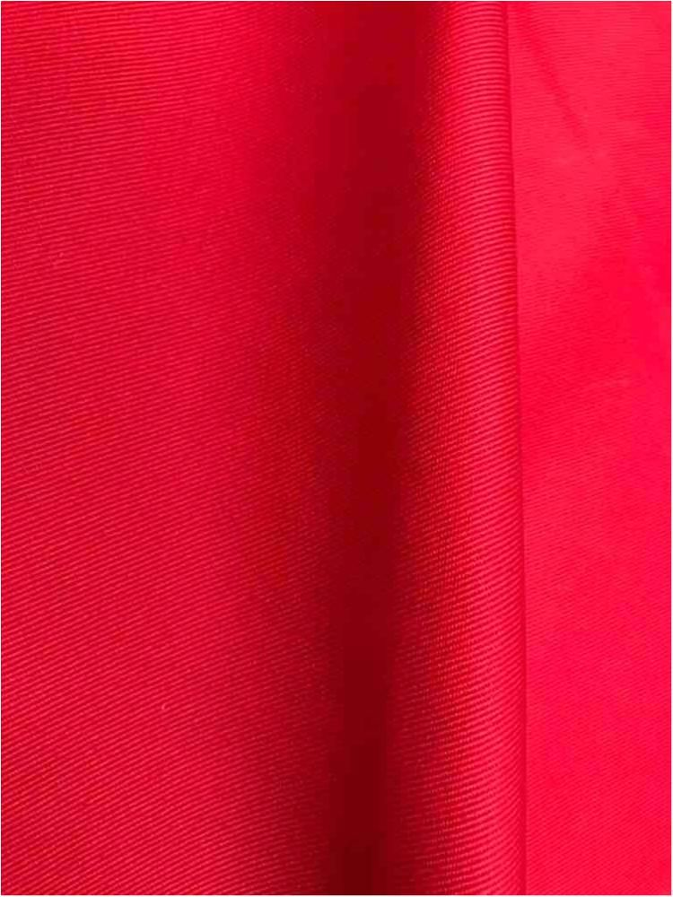 TWILL T/C / RED 192 / 65% POLYESTER 35% COTTON TWILL