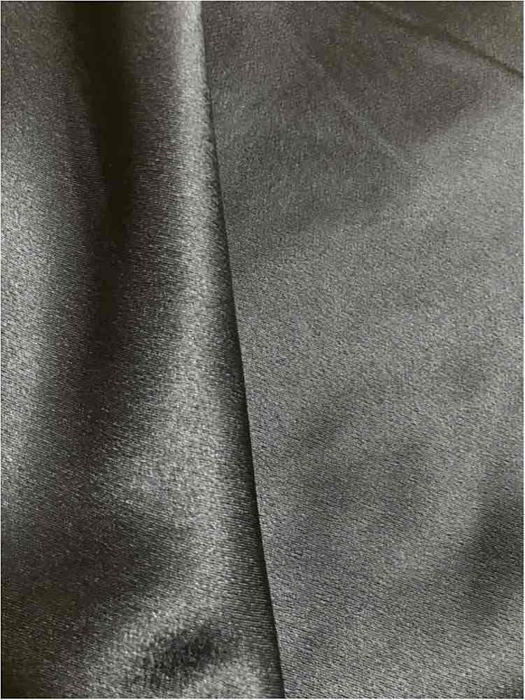 BACK CREPE / CHARCOAL 665 / 100% Polyester Back Crepe Satin
