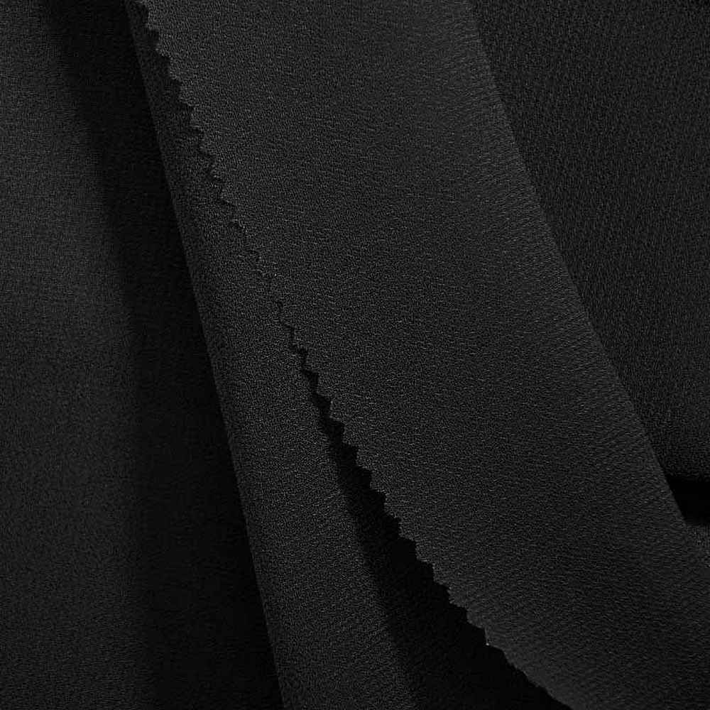<h2>PEBBLE 200</h2> / BLACK 115       / 100% Polyester Pebble Georgette