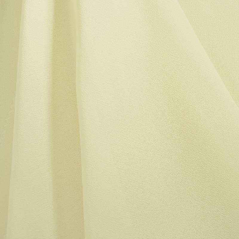 PEBBLE 200 / IVORY 112 / 100% Polyester Pebble Georgette